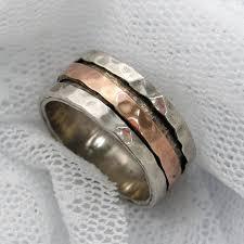 spinner rings sterling silver gold spinner ring worry rings meditation