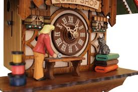 Authentic Cuckoo Clocks Quilt Shop Cuckoo Clock It U0027s Animated