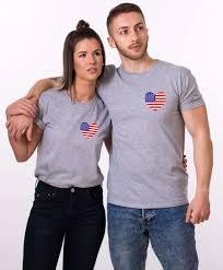 Kenya Flag Clothing American Flag Shirts 4th Of July Matching Couple Shirts