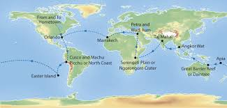 Jet Blue Route Map Around The World By Luxury Private Jet 24 Days U2014 Expedition