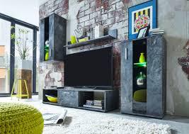 Wohnzimmerschrank Auf Rechnung Attraktive Wohnwand In Schiefer Optik Ein Starkes Stück