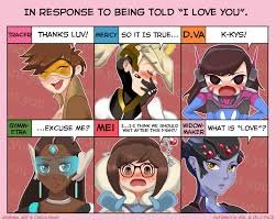 I Love L Meme - overwatch s response by zelc face zelda s response know your meme