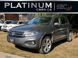 tiguan volkswagen 2012 used 2012 volkswagen tiguan sel 4motion navi p for sale in north