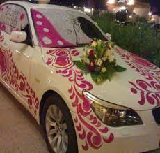 indian wedding car decoration wedding car decoration in gaggal dharamsala id 8318472088
