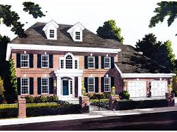 colonial style home plans webster woods georgian home plan 065s 0015 house plans and more