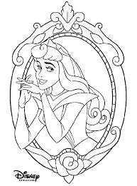 Coloriage Princesse Aurore à imprimer