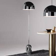 Chrome Floor Lamp Bell Chrome Floor Lamp