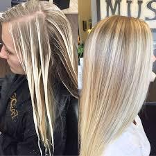 Light Blonde Balayage Before And After Balayage U2026 Pinteres U2026
