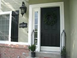 Painting Exterior Door Front Doors What Color Should I Paint My Front Door On A Brown