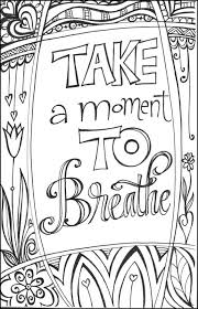 printable inspirational quotes to color cozy inspiration printable coloring pages for teens best kids