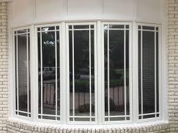large pella bow window with prairie grilles windows pinterest
