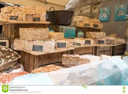 nougat shop in les baux de provence france editorial photography