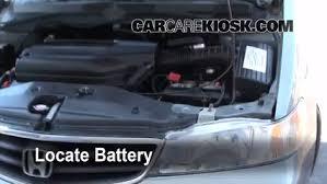 2002 honda odyssey ex l battery replacement 1999 2004 honda odyssey 2002 honda odyssey