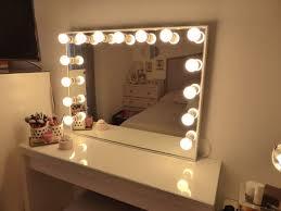 Bathroom Vanity Light Bulbs Best 25 Mirror With Light Bulbs Ideas On Pinterest Diy Makeup