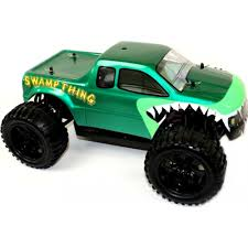 nitro monster trucks 1 10 electric rc monster truck swamp thing
