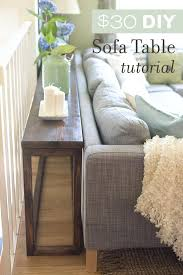 how to make a console table u2013 thelt co