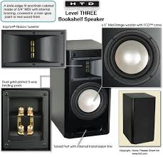 Discount Bookshelf Speakers Htd Level Three Bookshelf Speakers