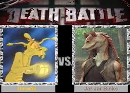 Jar Jar Binks Meme - death battle umwak vs jar jar binks by supermariofan65 on deviantart