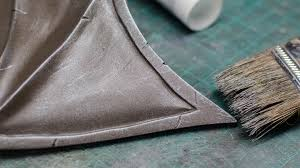 Painting On Faux Leather How To Paint A Realistic Rusty Metal Helmet Tested