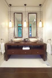 Modern Bathroom Vanity Lights - bathroom vanity lighting bathroom contemporary with accent wall