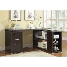 L Shaped Metal Desk Writing Desks Cymax Stores