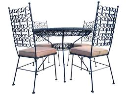 Patio Restaurants Dallas by Arthur Umanoff Patio Dining Set Chairish