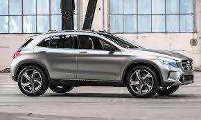 mercedes size suv mercedes gla suv concept shanghai motor photo by