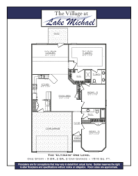 Level Floor Our Ultimate One Level Floor Plan Offers Three Bedrooms Plus