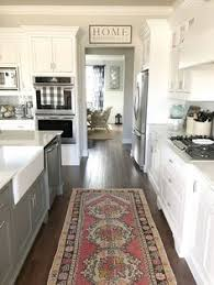White Cabinet Kitchen Design Ideas White U0026 Pale Grey Contemporary Farmhouse Style Kitchen House
