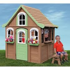 big backyard forestview cedar playhouse cedar playhouse big