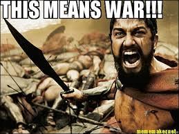 This Means War Meme - meme maker this means war