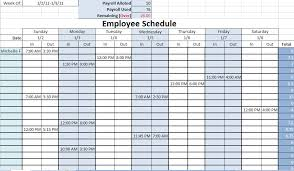 Employee Scheduling Excel Template 8 Best Images Of Printable Monthly Work Schedule Free Monthly