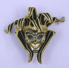 jester mardi gras black and gold jester mardi gras mask masks