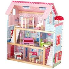 Cottage House Furniture by Amazon Com Kidkraft Chelsea Doll Cottage With Furniture Toys U0026 Games