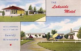 the lakeside motel bemidji minnesota 1950 u0027s minnesota