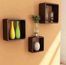 furniture decoration ideas marvelous cube three cube wall shelves