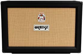 guitar speaker cabinets orange ppc212 c guitar speaker cabinet 120 watts 2x12 black 16