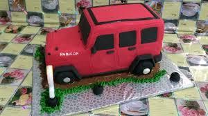 jeep cupcake cake jeep rubicon cake how to make youtube