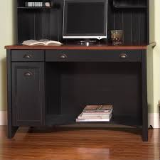 Bush Stanford Lateral File Cabinet Bush Stanford 48 Computer Desk Set In Antique Black And Hansen