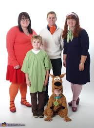 Scooby Doo Gang Halloween Costumes Gang Family Costume