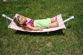 arts and crafts for your american doll hammock for american