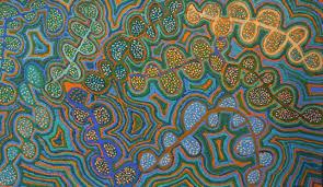 vivid colours of the tanami desert aboriginal art exhibition
