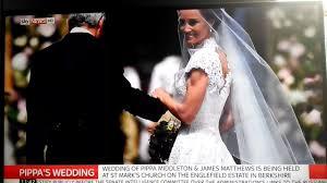 pippa middleton wedding dress wow watch worldwide youtube first