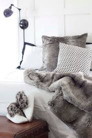 Faux Fur Bed Throw 5 Ways With Faux Fur Decor Ideas Southern Revivals