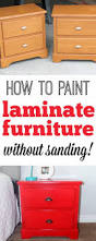 How To Paint Wood Furniture by Best 25 Spray Paint Furniture Without Sanding Ideas On Pinterest