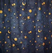 Star Shower Curtains Breathtaking Moon And Stars Curtains 31 For Your Shower Curtains