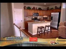 Colorado Springs Patio Homes by Classic Homes Patio Homes In The Carriages At Indigo Ranch Youtube