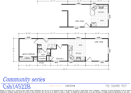 Single Home Floor Plans by Community Series Manufactured Home Single Wide Homes El Dorado Homes