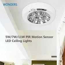 Ceiling Sensor Light 5w 7w 11w Pir Motion Sensor Led Ceiling Lights Surface Mounted