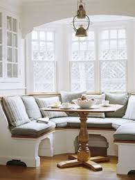 How Ive Created A Casually Elegant Style In Our Home And How You - Bay window kitchen table